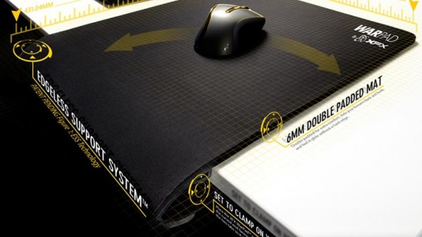 Огромный мышиный коврик XFX для хардкорных профи