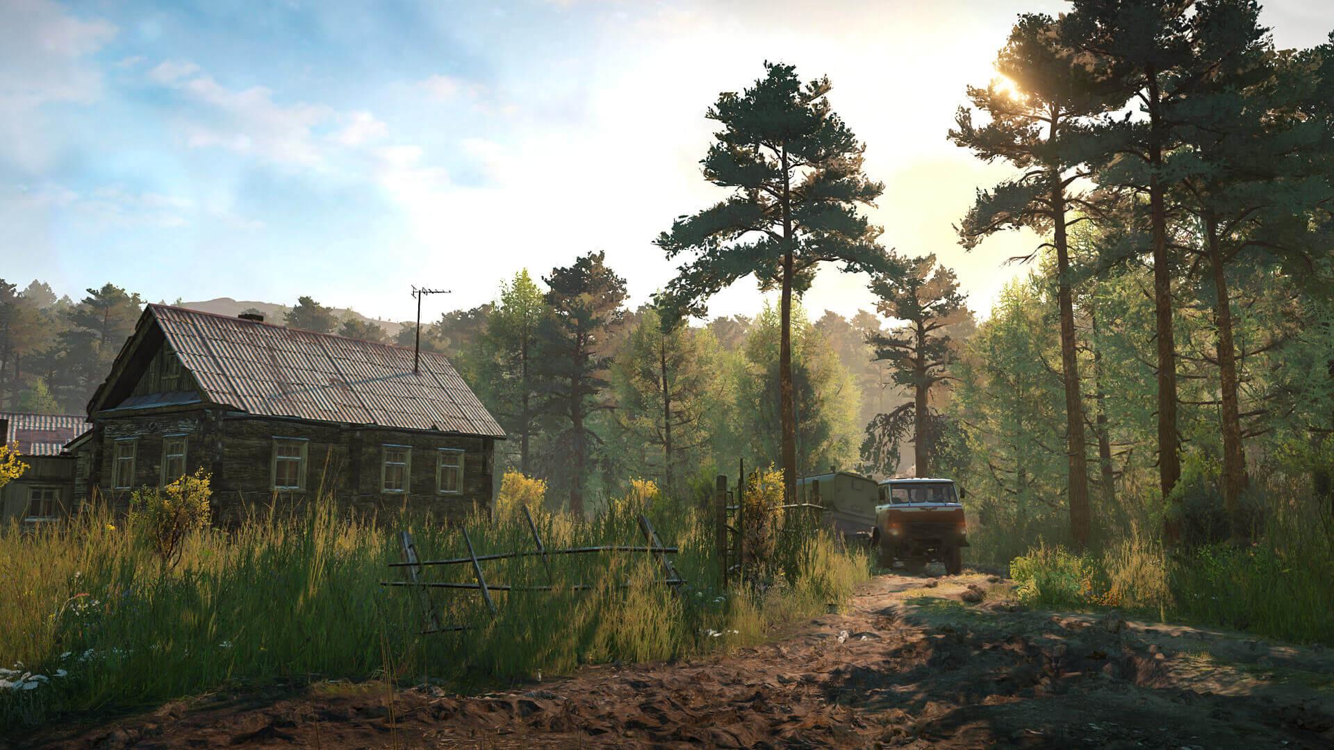 Авторы SnowRunner представили трейлер игры для Switch