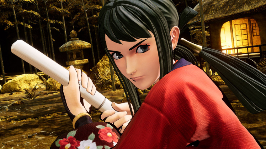 Хибики Таканэ пополнит ростер Samurai Shodown уже28 апреля
