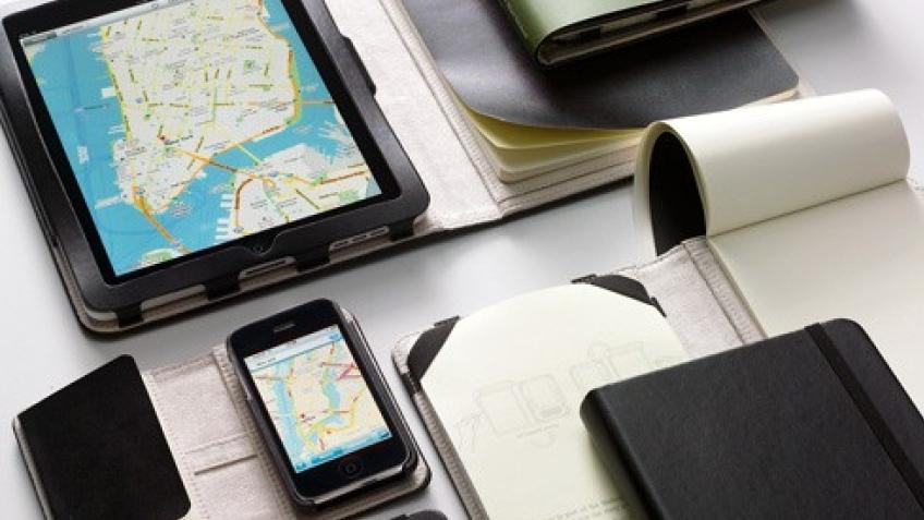 Moleskine представил блокноты-чехлы для техники Apple