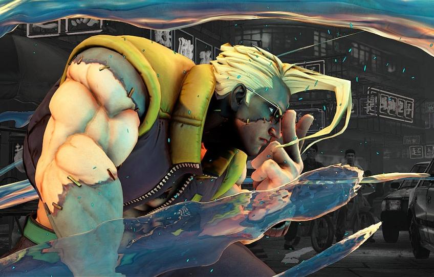 Capcom подтвердила, что в Street Fighter5 появится Чарли Нэш