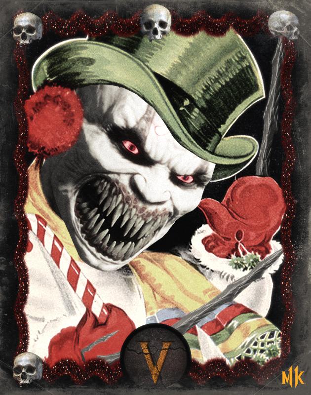 Авторы Mortal Kombat11 опубликовали серию жутковатых открыток