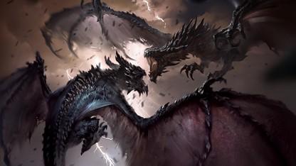 Поклонников TES: Legends удивили четырехлапые драконы из Heroes of Skyrim