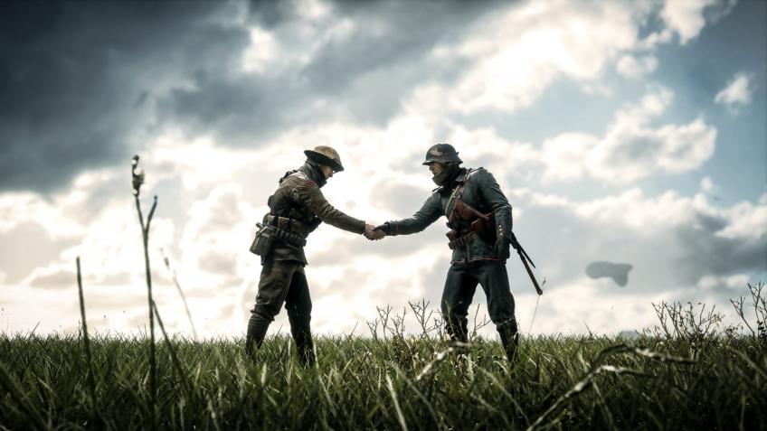 Игроки Battlefield1 остановили бой, чтобы отметить столетие окончания Первой мировой