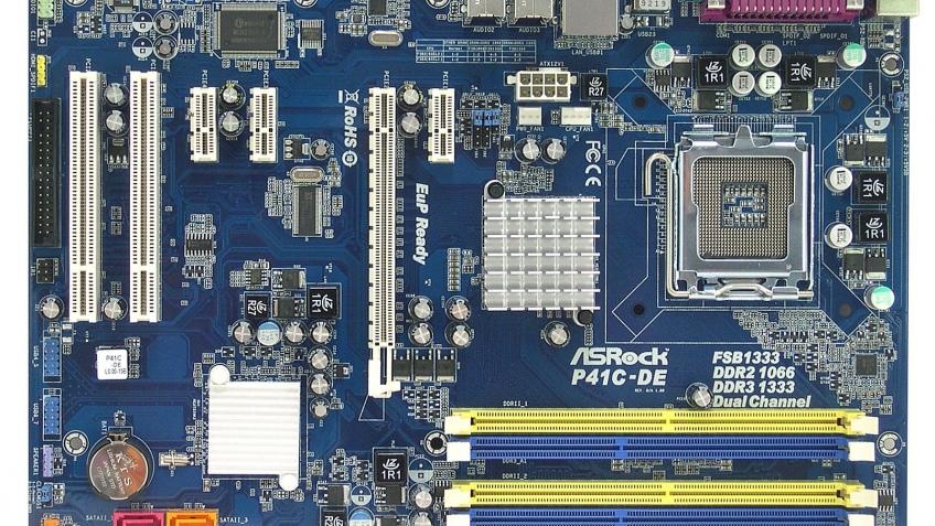 Экономичная материнская плата ASRock на основе Intel P41C-DE