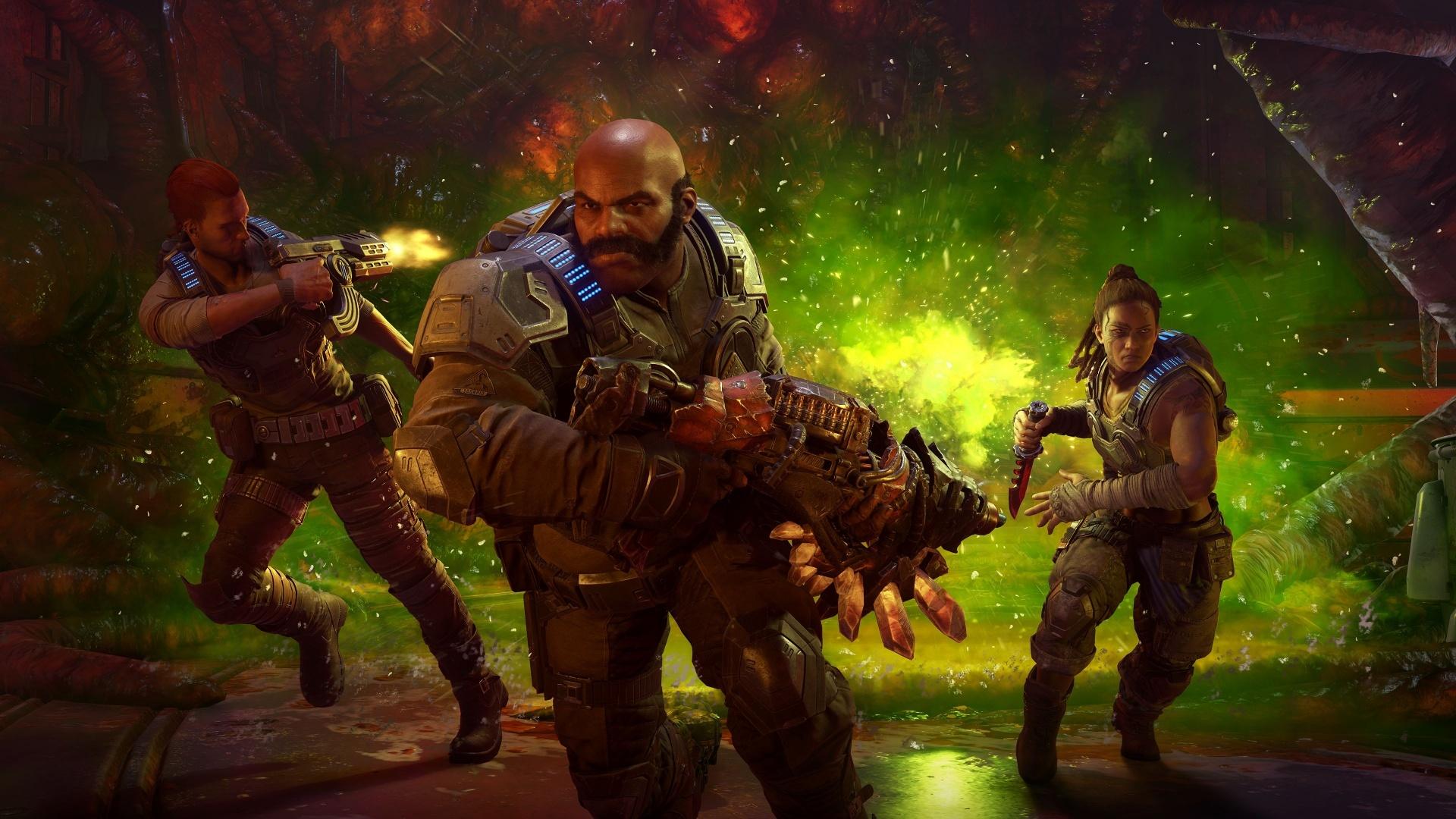 Стоимость Gears5 в Steam снизилась в четыре раза — до 1085 рублей