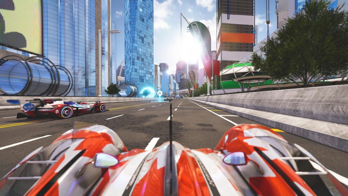 У аркады Xenon Racer появилась дата релиза