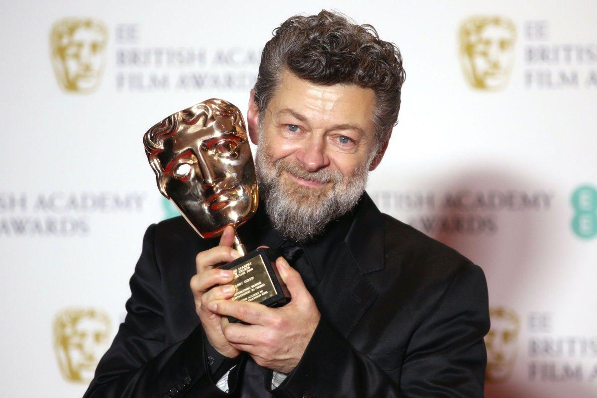 Энди Сёркис получил премию BAFTA за вклад в киноиндустрию