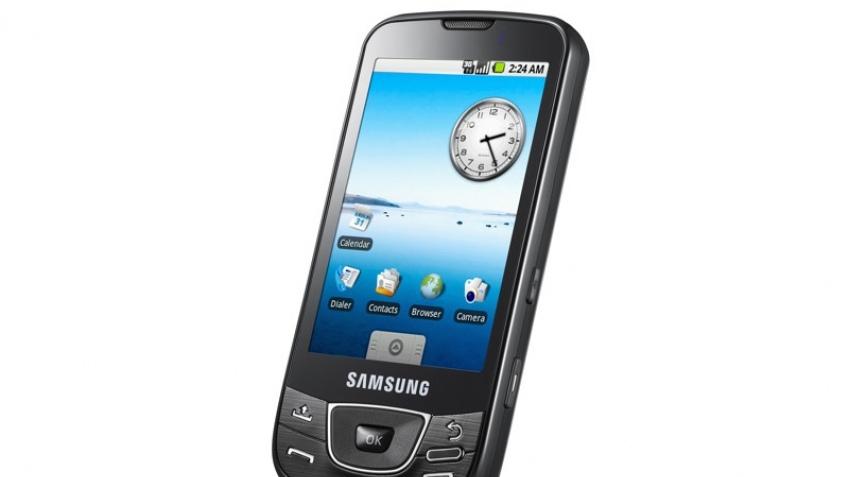Первый Android-телефон компании Samsung