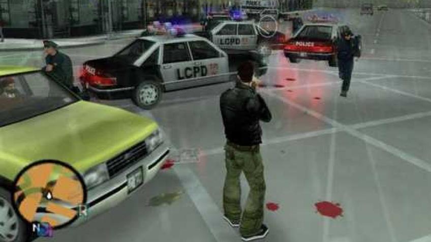 Разработчики GTA3 не забыли про iPhone4