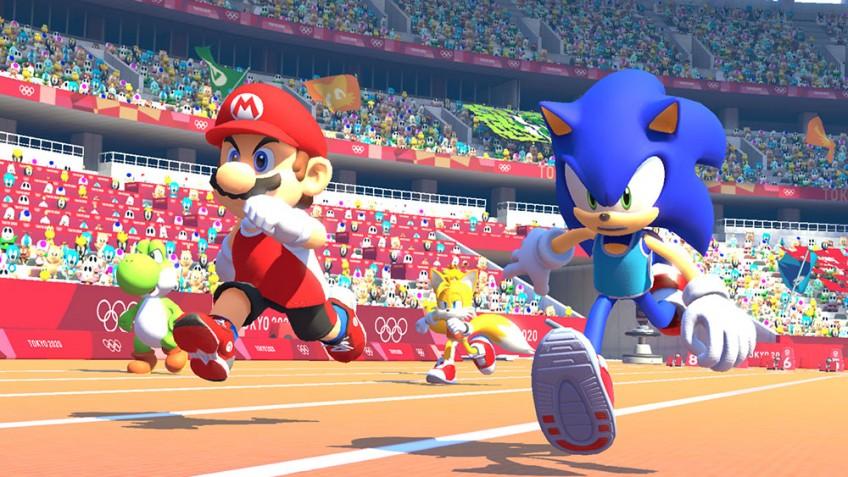 Марио и Соник на финишной прямой: новый трейлер Mario & Sonic at the Olympic Games Tokyo 2020