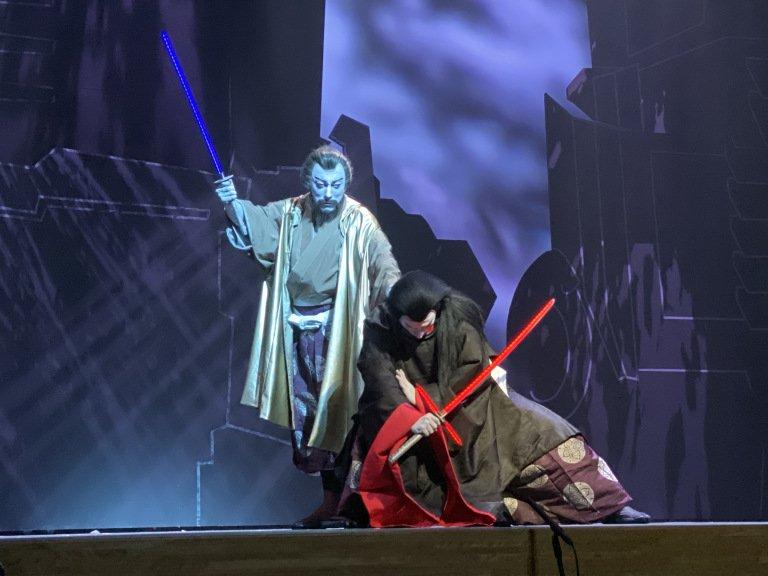 «Звездные войны» поставили в театре кабуки