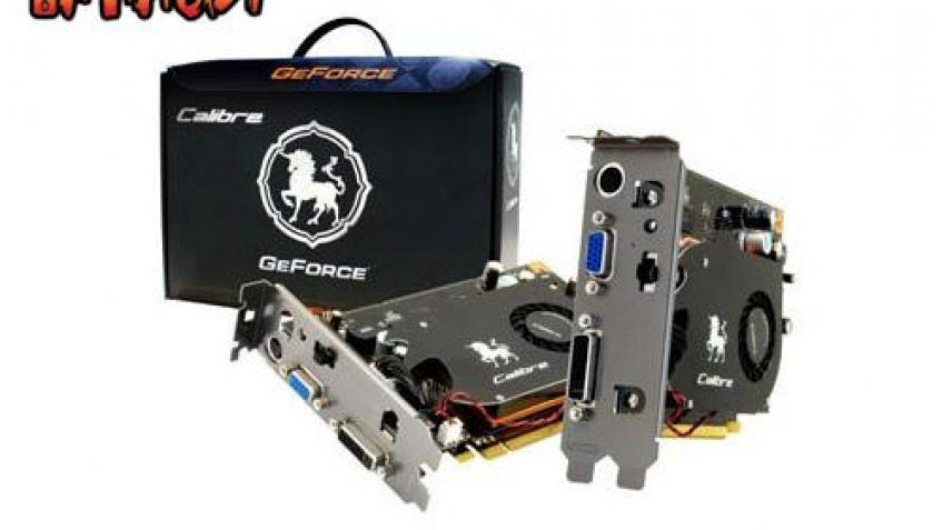 Sparkle прокачала GeForce 8600 GT
