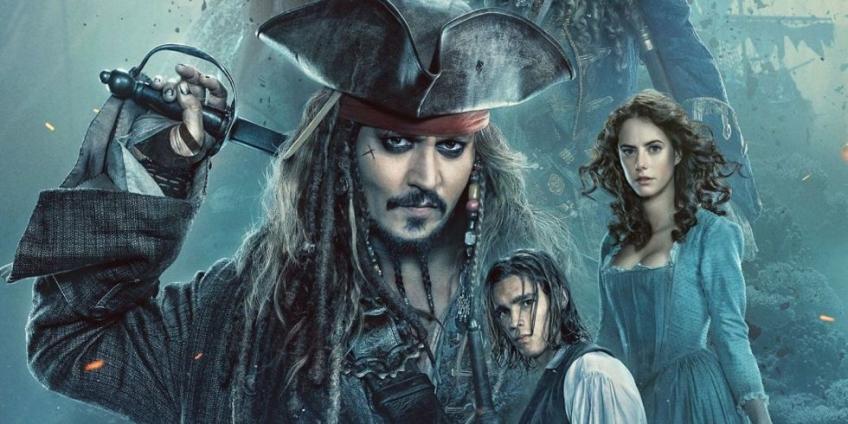 Герои пятой части «Пиратов Карибского моря» попали на постеры