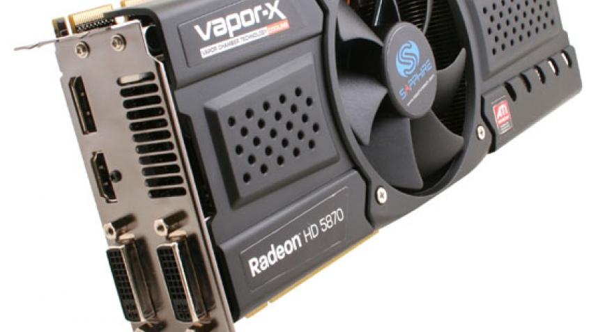 Первые фотографии Sapphire Radeon HD 5870 Vapor-X