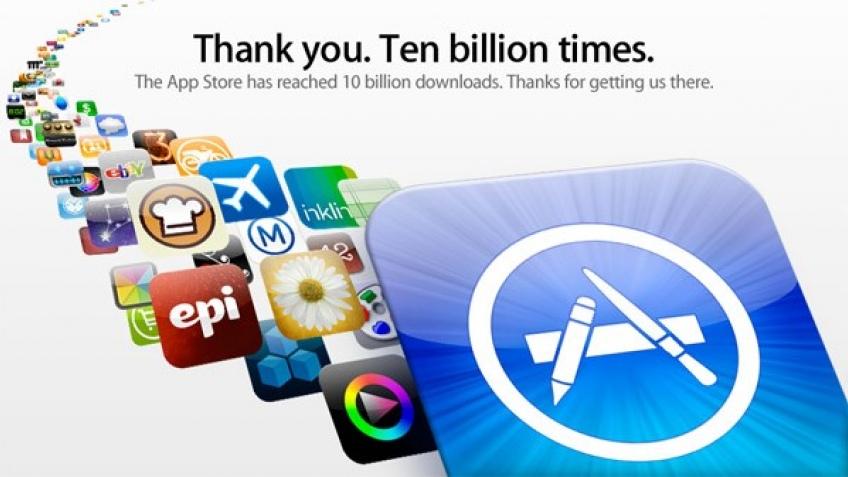 Apple App Store: 10 миллиардов скачиваний