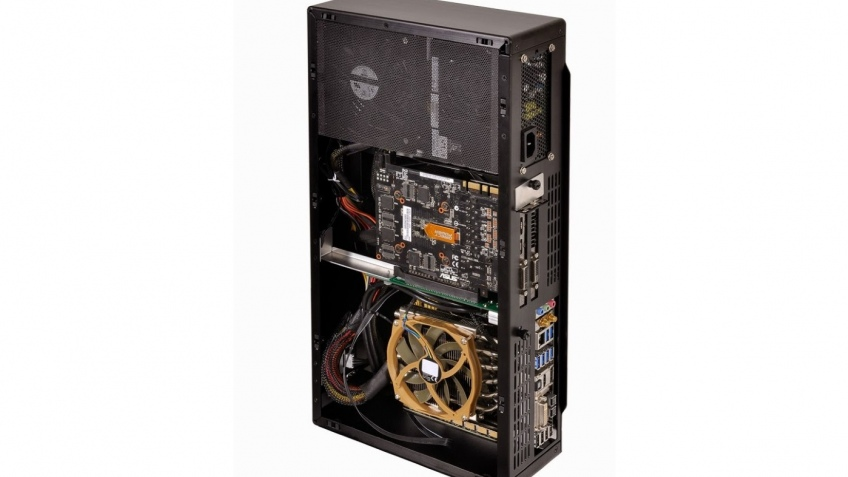 Корпус Lian Li PC-Q19 предназначен для систем mini-ITX