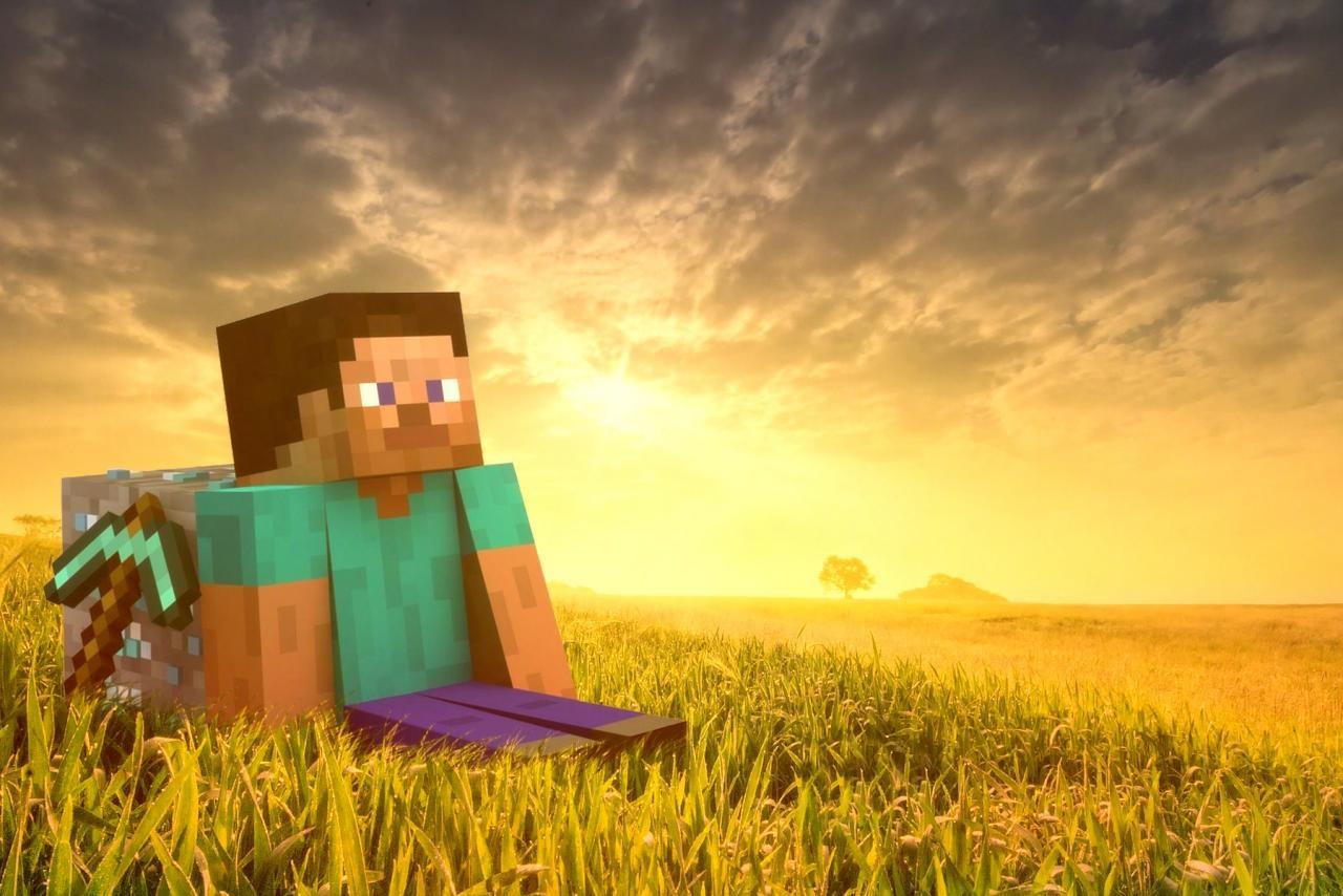 Ежемесячная аудитория Minecraft составляет 112 млн человек