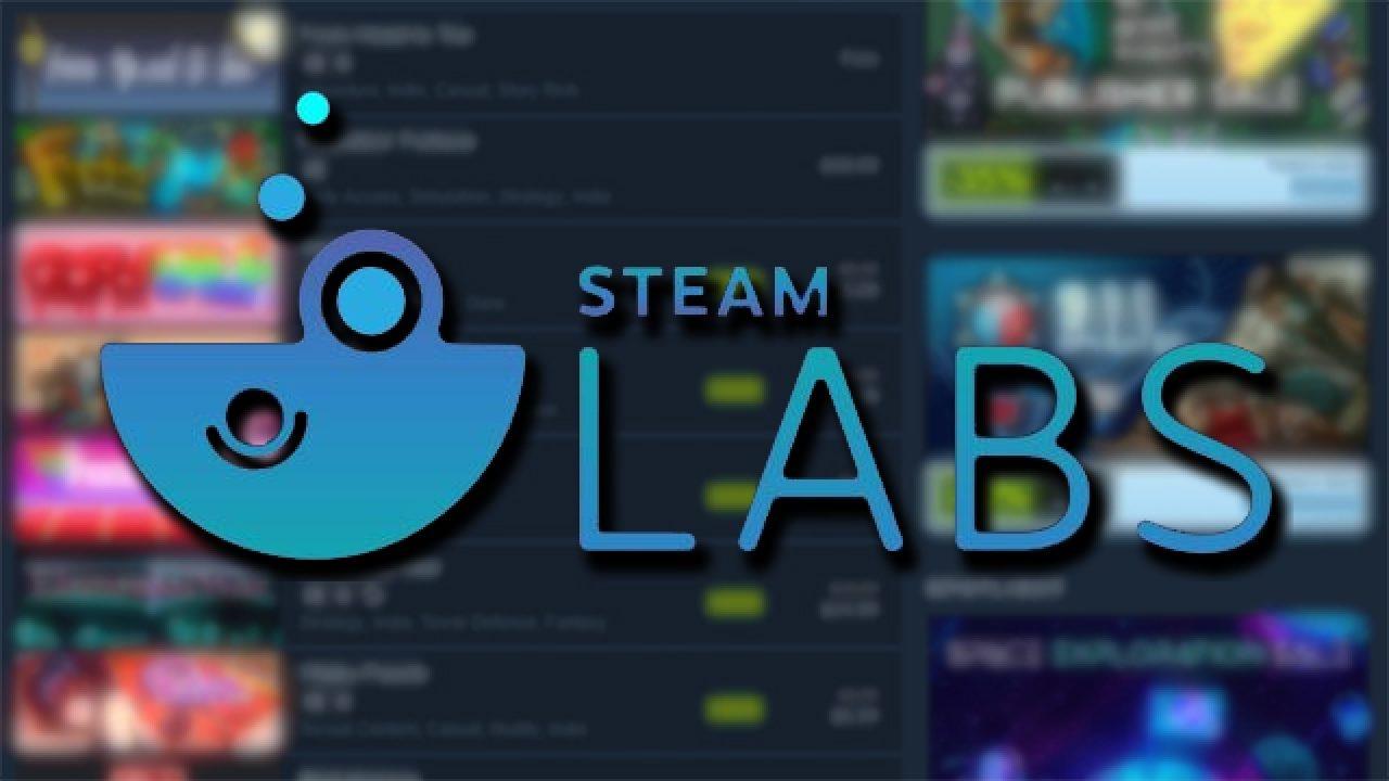В Steam Labs запустили новый эксперимент и не только