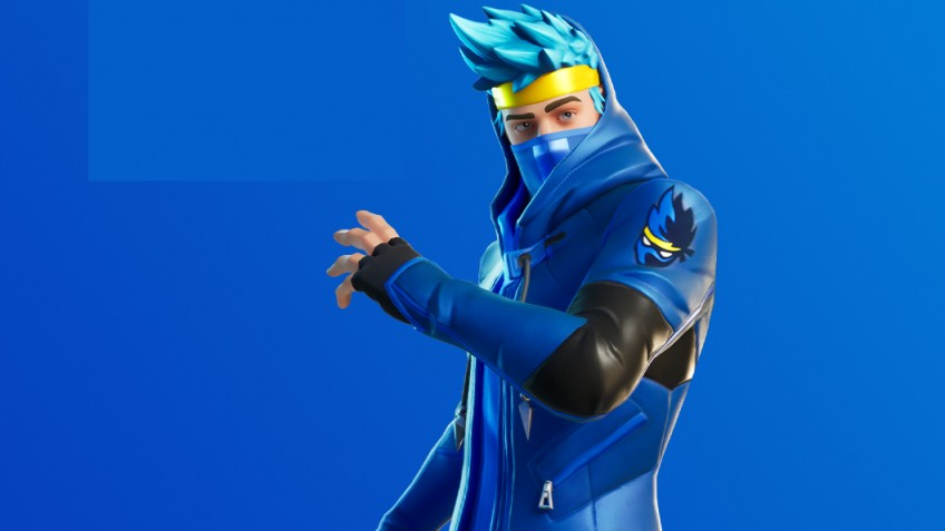 В Fortnite начали появляться звёзды: первым стал Ninja