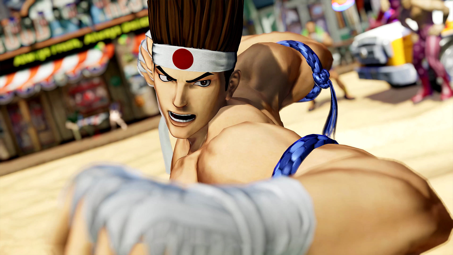 The King of Fighters XV: новый трейлер и скриншоты посвятили Джо Хигаси