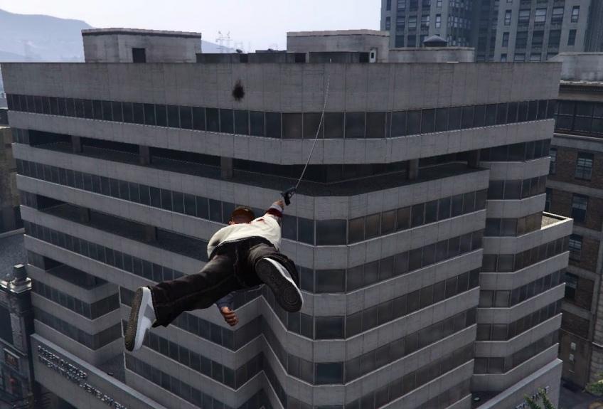 Моддер скрестил GTA5 и Just Cause2