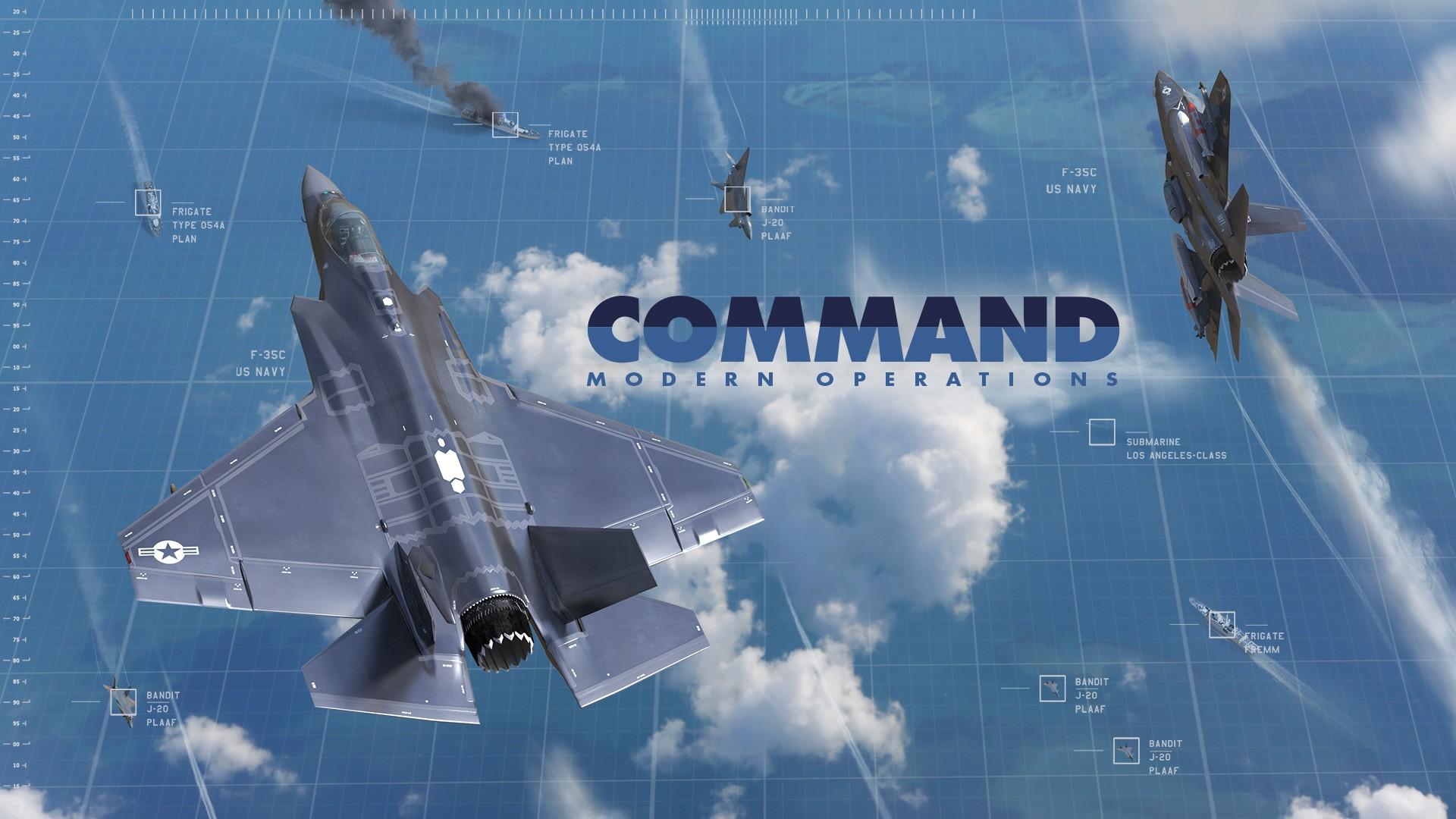 Стратегия Command: Modern Operations — продолжение Modern Air Naval Operations