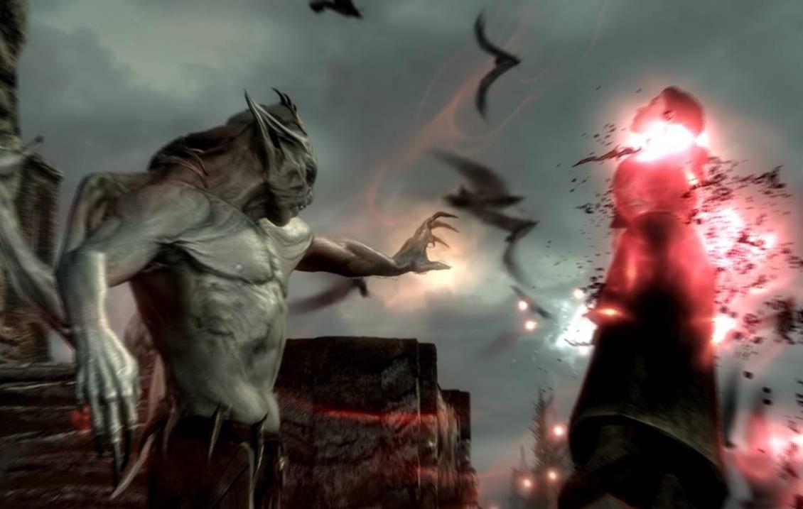 Вампиры вербуют героев Skyrim
