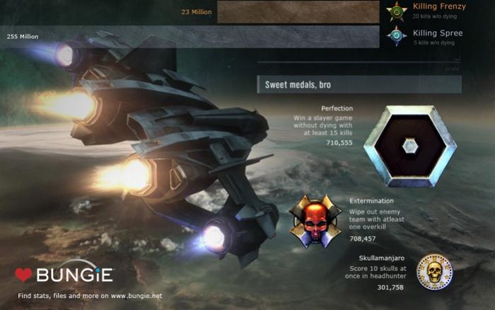 Halo: Reach считает трупы