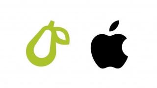 Apple судится с Prepear из-за логотипа в виде груши