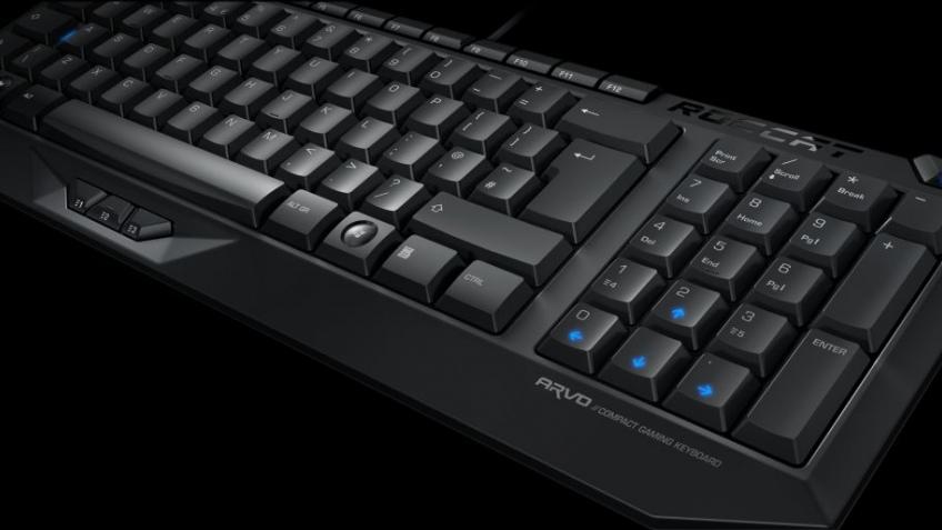 Игровая клавиатура Roccat Arvo, уже в продаже