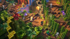 Трейлер к выходу дополнения Jungle Awakens для Minecraft Dungeons