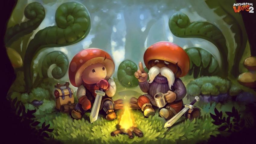 В Mushroom Wars2 можно будет сражаться по локальной сети