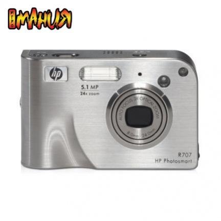 Жаркие фотокамеры HP