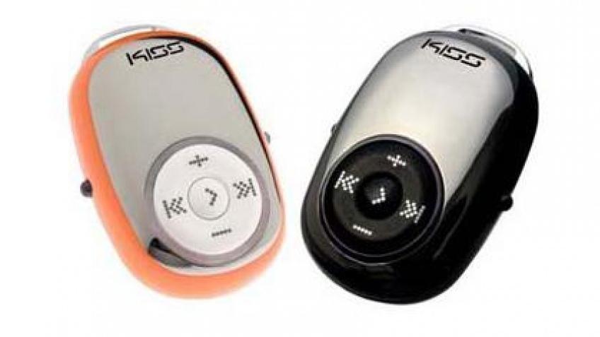 Женский MP3-поцелуй