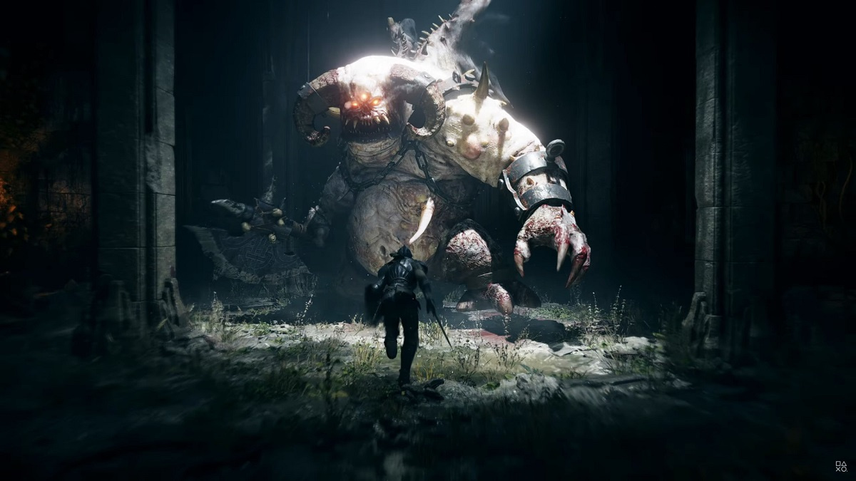 Sony показала более12 минут Demon's Souls на PlayStation5
