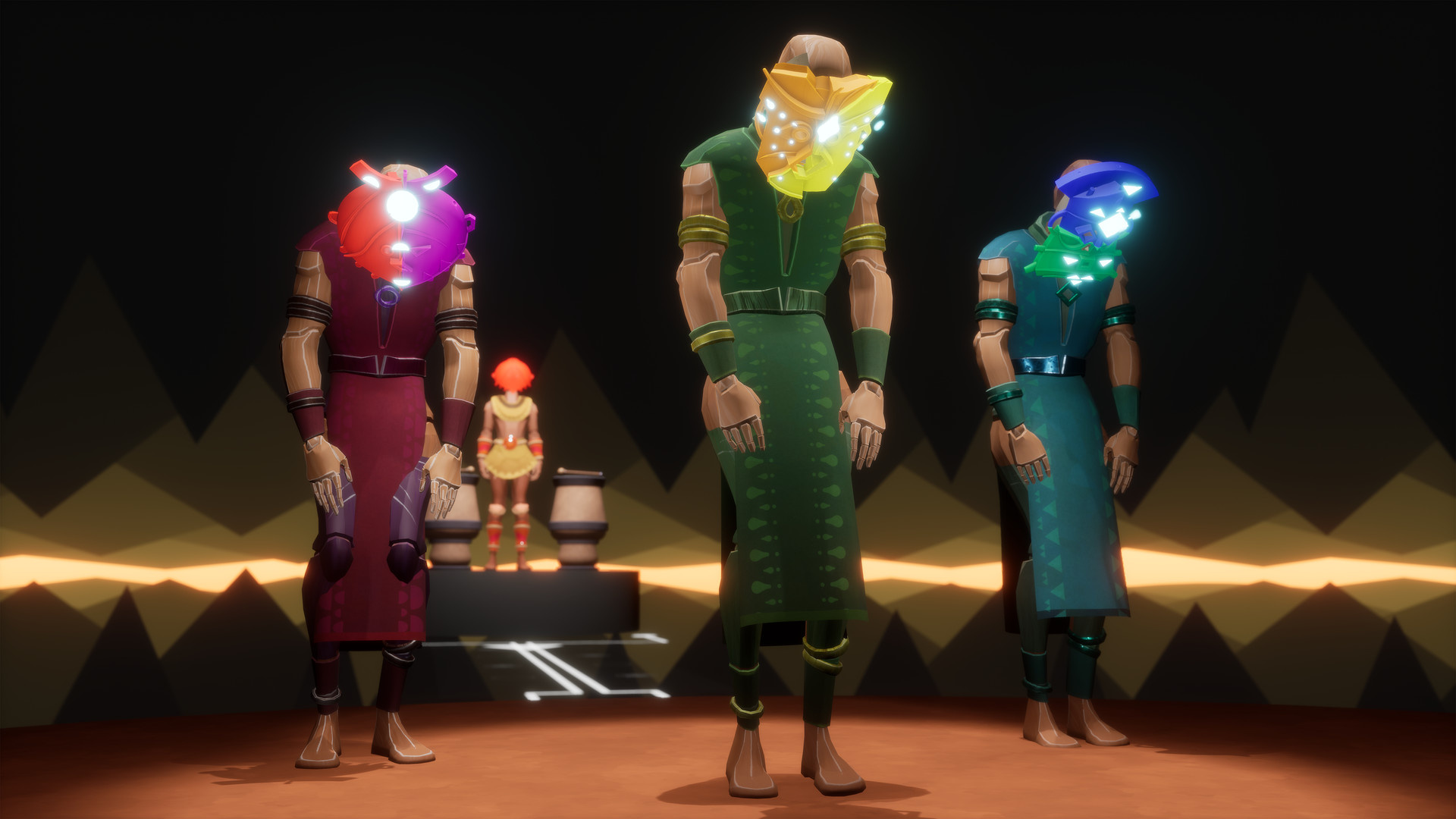 Innerspace анонсировала VR-головоломку Maskmaker