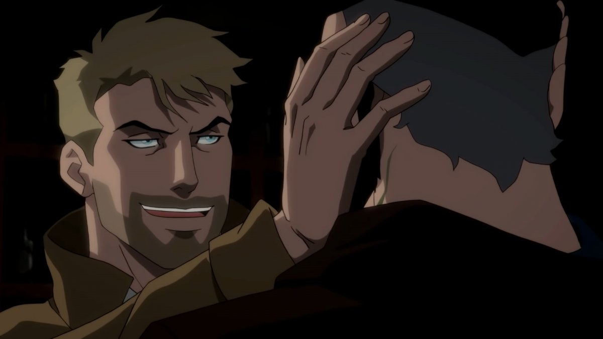 Константин в отрывке «Тёмной Лиги справедливости: Война Апоколипса»