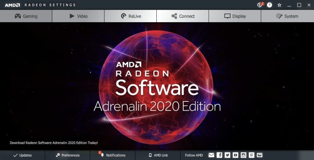 В драйвере AMD Adrenalin 2020 Edition появится технология Radeon Boost