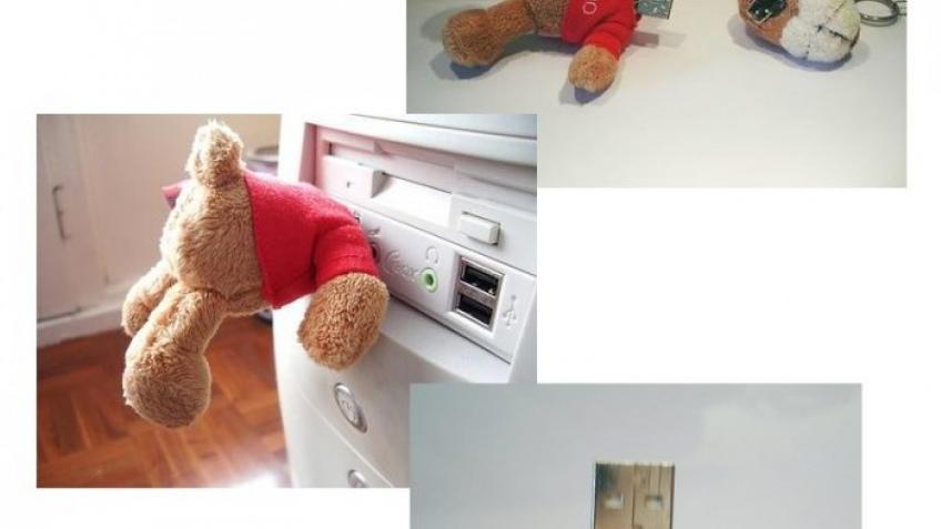 USB-медведь