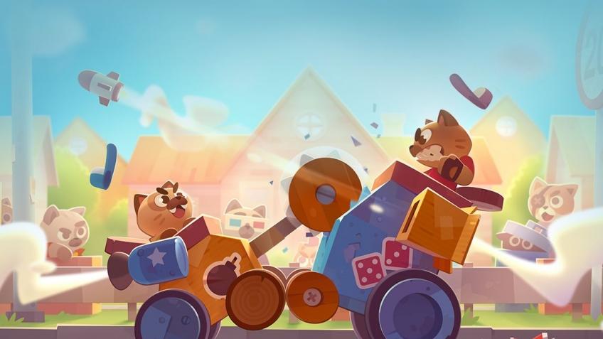 скачать игру Cats Crash Arena Turbo Stars через торрент от механиков - фото 3