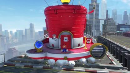 В сеть утекли несколько геймплейных роликов Super Mario Odyssey