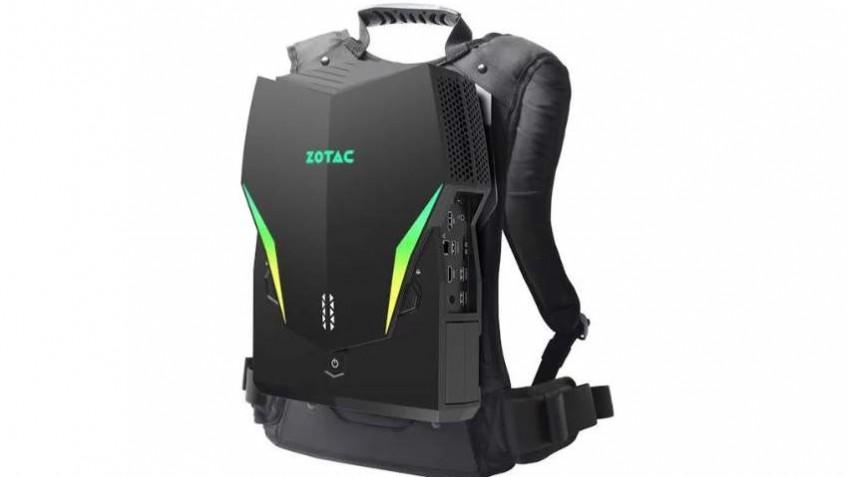 Компьютер-рюкзак Zotac VR Go3.0 оснащён картой NVIDIA GeForce RTX