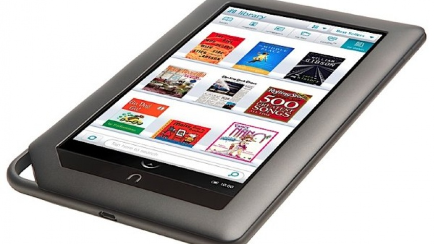 Barnes & Noble представили планшетный компьютер Nook Color