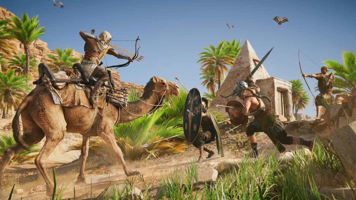 На gamescom 2017 показали кинематографический трейлер Assassin's Creed: Origins