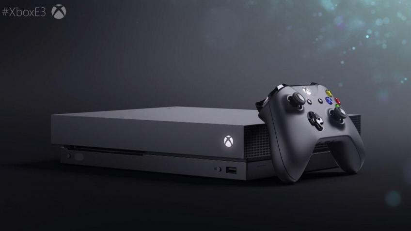 Microsoft представила новую консоль, Xbox One X