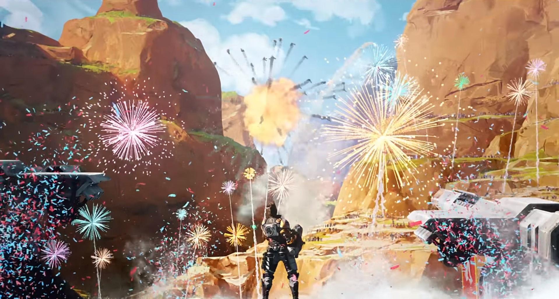 В релизном трейлере8 сезона Apex Legends взорвали Каньон Кингс