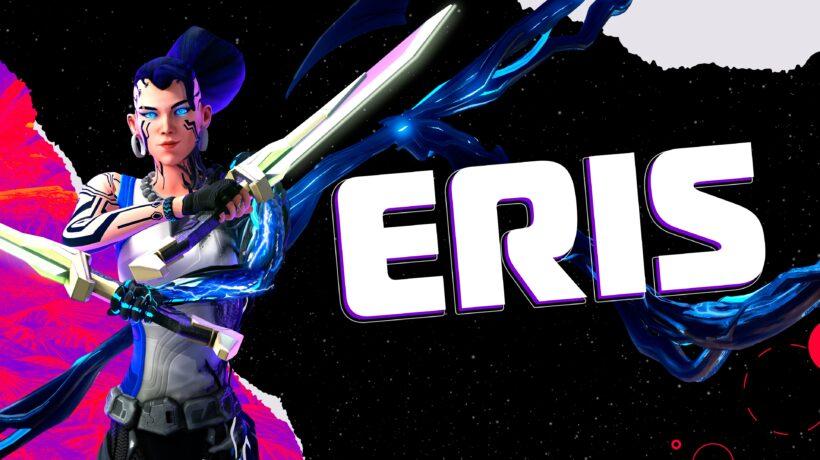 Эрис, единственная дама в команде, знакома с технологиями. Она использует против врагов «лезвия наноботов» и владеет атакой по площади. При необходимости Эрис призывает машины, которые на мгновение ошеломляют противников, делая их уязвимыми для командных атак.3