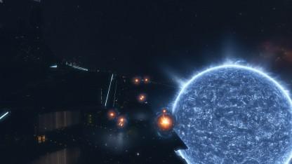В EVE игроки в честь Стивена Хокинга осветили всю галактику