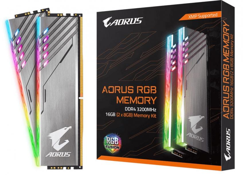 Память Gigabyte Aorus RGB DDR4-3200 — теперь без фейков